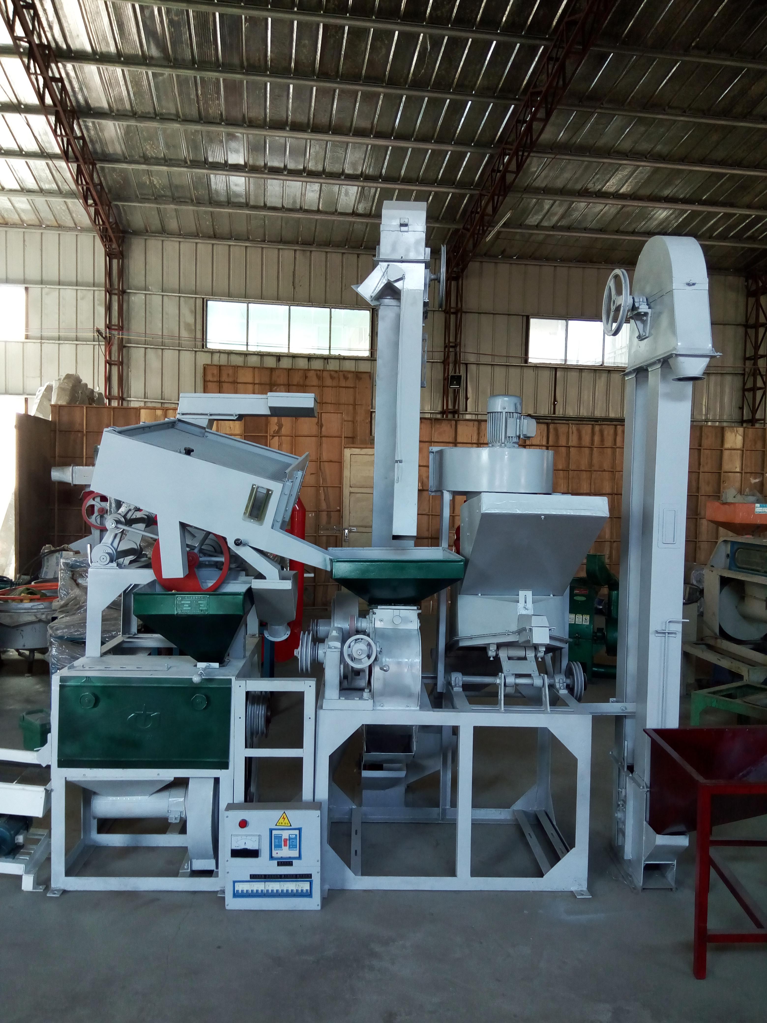 现货供应15豪华型强拉风碾米机  豪华型砻谷机  快速碾米机