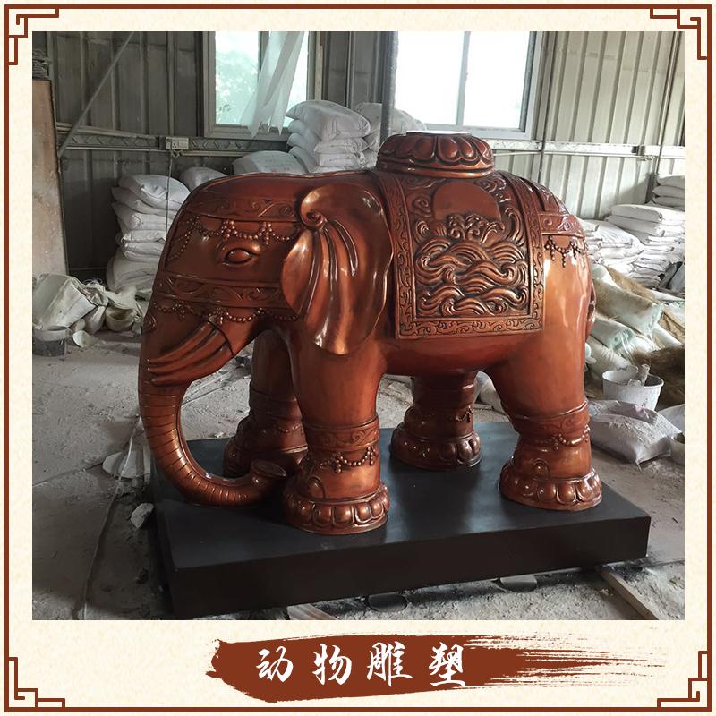 玻璃钢雕塑工程动物雕塑定制 景观装饰动物造型雕刻摆件景观雕塑