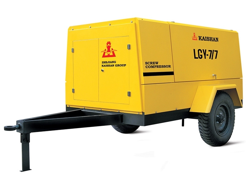 LG电动移动螺杆空气压缩机 电动移动螺杆空气压缩机
