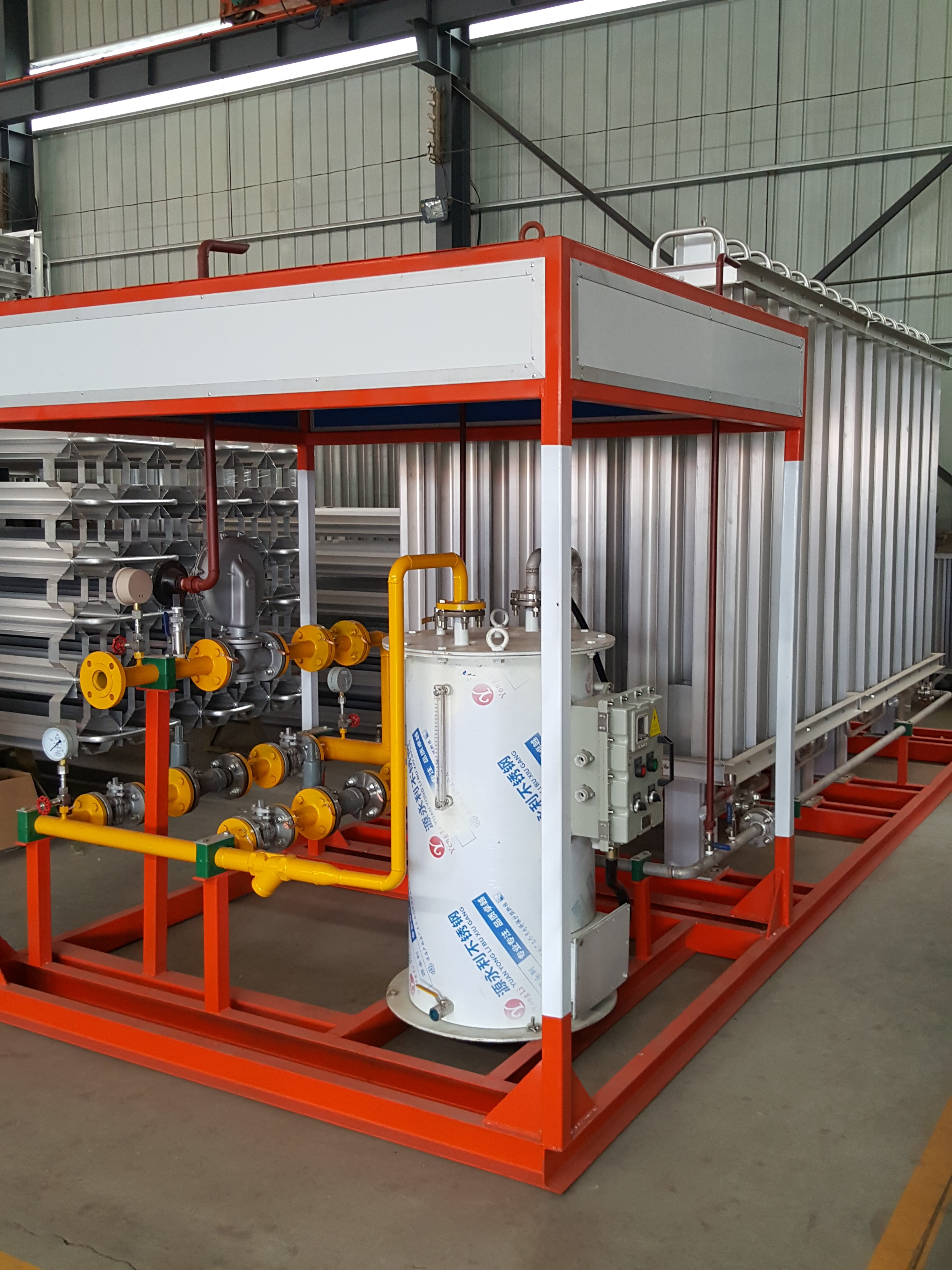 LNG(空温式)汽化器     LNG增压器    燃气设备