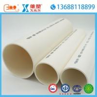 批发雄塑 pvc管 pvc排水管 国标塑料管材 upvc管道