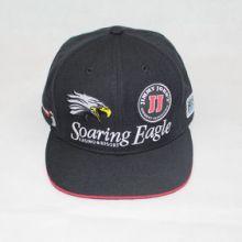 黑色的立体绣花棒球帽章仔绣大头帽图片