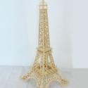 木制巴黎铁塔模型玩具图片