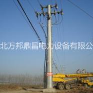 10kv电力钢杆图片