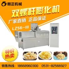 休闲小零食膨化机 休闲食品加工设备 济南膨化机厂家