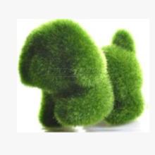 厂家批发东莞万汇达植绒厂Grass Land 人造草动物公仔狗仔玩具摆饰装饰品