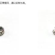 麦穗钛钢戒指图片