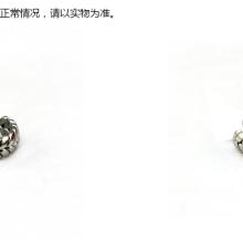 厂家直销日系纯色简单麦穗戒指土豪金龙骨钛钢情侣对戒欧美不锈钢戒指批发 麦穗钛钢戒指批发