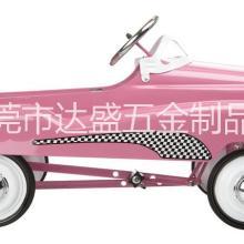 厂家直供3-5岁外贸儿童玩具车 金属童车 仿真脚踏车 儿童小汽车  外贸玩具四轮小车