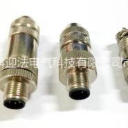 传感器M12防水航空插头连接器,图片