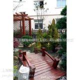 供应别墅绿化防腐木花架,上海绿化