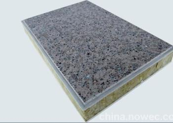 鲁灰饰面岩棉保温装饰一体板图片