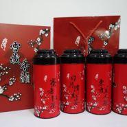 台湾茶叶包装礼盒铁罐图片