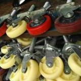 河北献县脚手架轮子批发价 献县哪里生产的脚手架轮子 批发脚手架