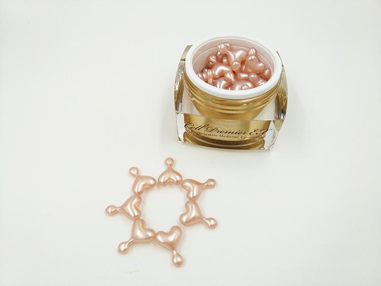 EX鲑鱼干细胞精华修复红血丝抗过敏小星星去痘印痘坑胶囊