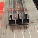 黑钛不锈钢线条 无指纹不锈钢包边图片