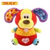 宝宝玩具不倒翁 TOLOLO 不倒翁毛绒玩具 狮子小牛小狗小猴子4款 新款上市