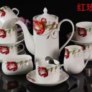 骨瓷咖啡杯碟套装图片