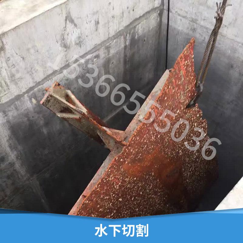 水下切割水下焊接安装水下检测维修水下切割带水潜水作业公司