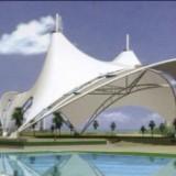 上海户外休闲膜结构景观棚设计免费 户外景观棚设计安装 膜结构