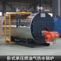 卧式承压燃油气热水锅炉图片