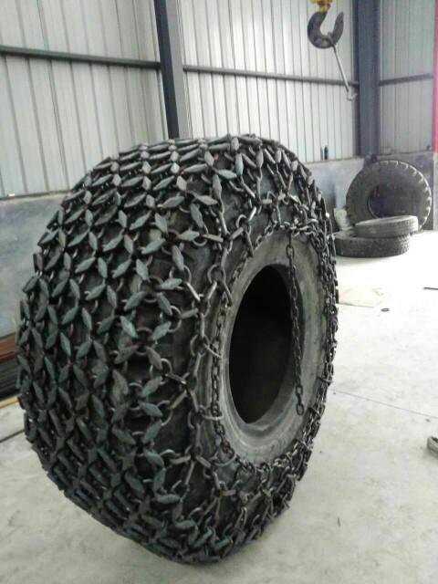 天津天威轮胎保护链 50型雪地机防滑链23.5-25铲运机轮胎保护链  压路机轮胎防滑链  装载机轮胎防滑链