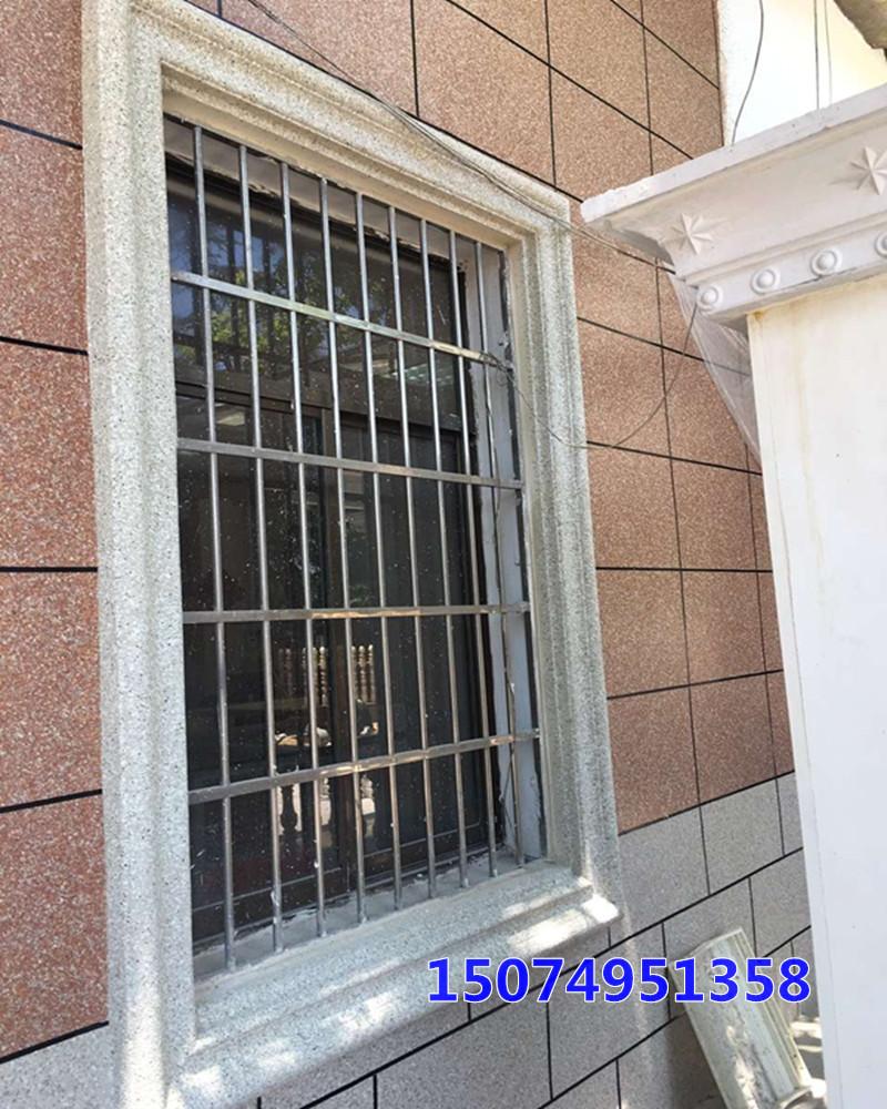 供应欧式水泥构件窗套模具 别墅外墙窗套款式可调节窗套模具