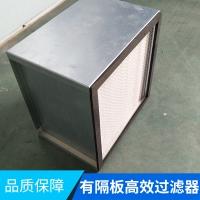 有隔板高效过滤器批发 有隔板高效过滤器厂家直销 通风空调过滤器