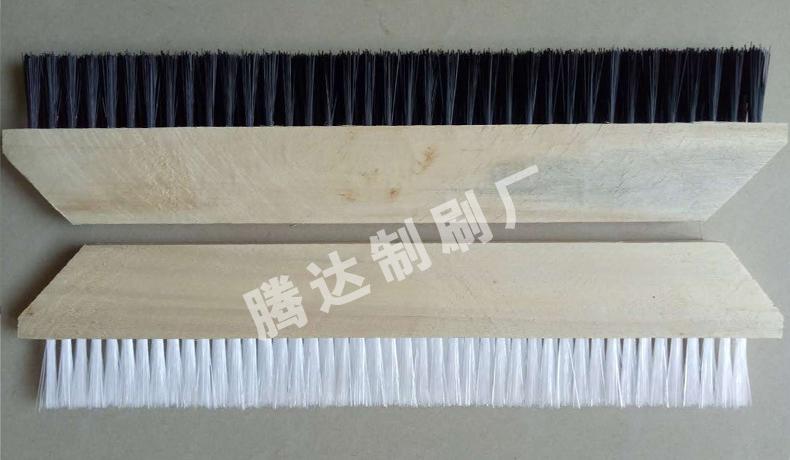 河南厂家可加工定做防水工程用毛刷 防水大排刷 木条毛刷