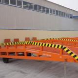 热销启运牌固定式 移动式登车桥 液压集装箱平台 叉车过桥 装卸平台 升降机 可定制