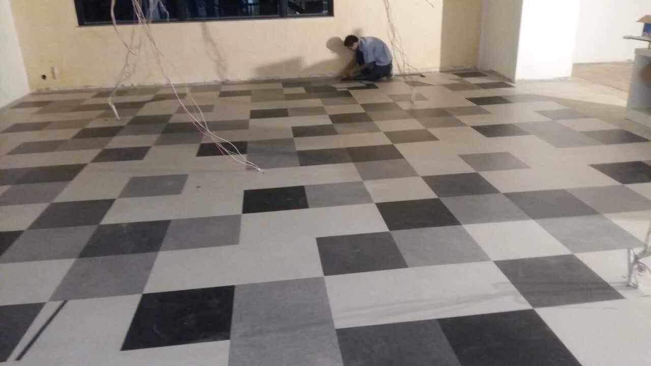 方块毯造价 方块毯施工  室内装修公司