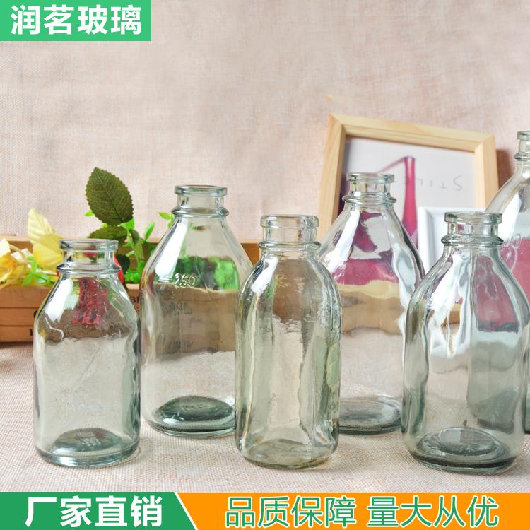 批发厨房用品透明玻璃香油瓶