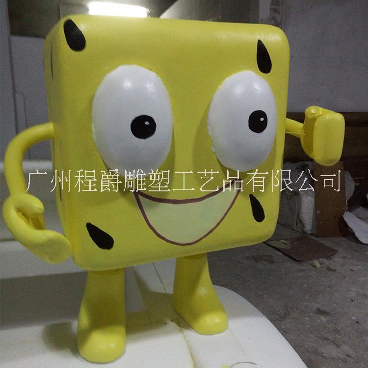 海绵宝宝泡沫卡通雕塑图片/海绵宝宝泡沫卡通雕塑样板图 (4)