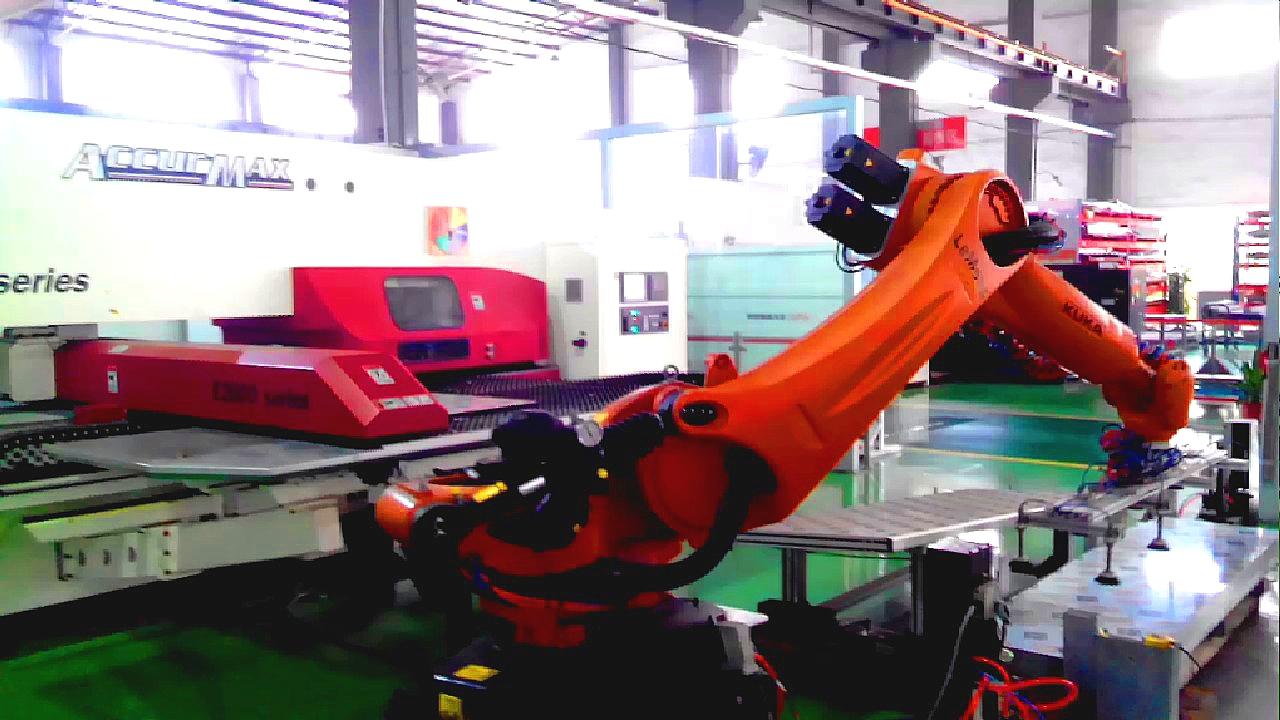 机器人折弯单元厂家 机器人钣金生产线 折弯机器人