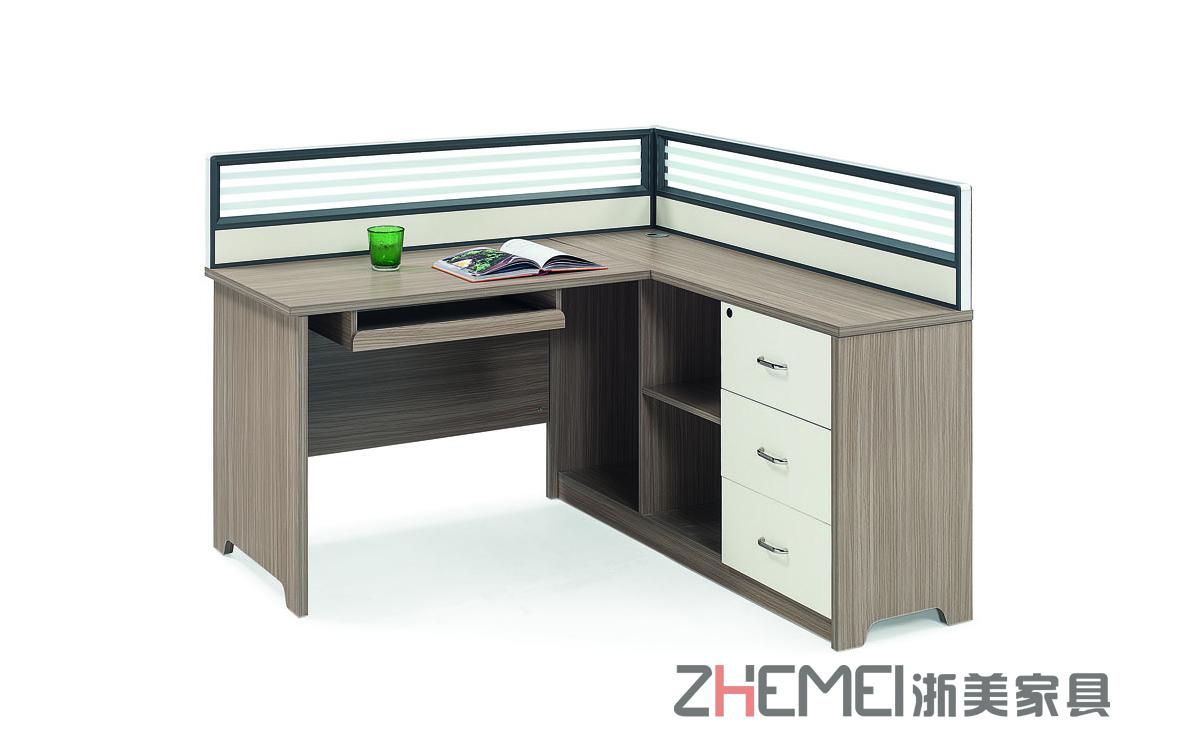 供应浙美办公家具现代简约职员办公桌屏风办公桌办公桌椅
