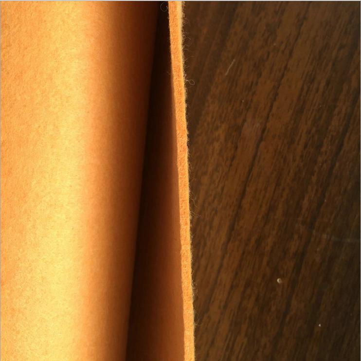 针刺毛毡无纺布 高档5mm3mm有色毛毡  批发定制 无锡有色毛毡无纺布