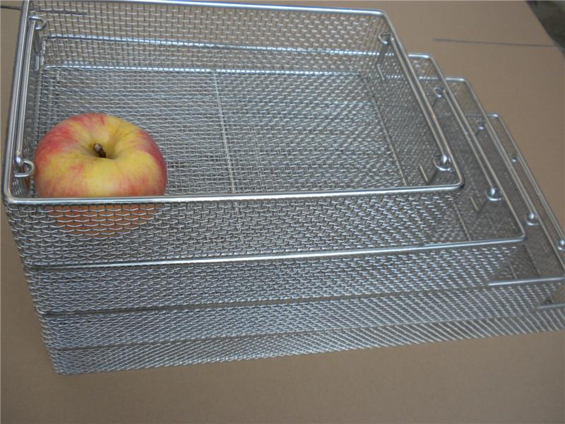 不锈钢餐具清洗篮筐质量好厂家定做