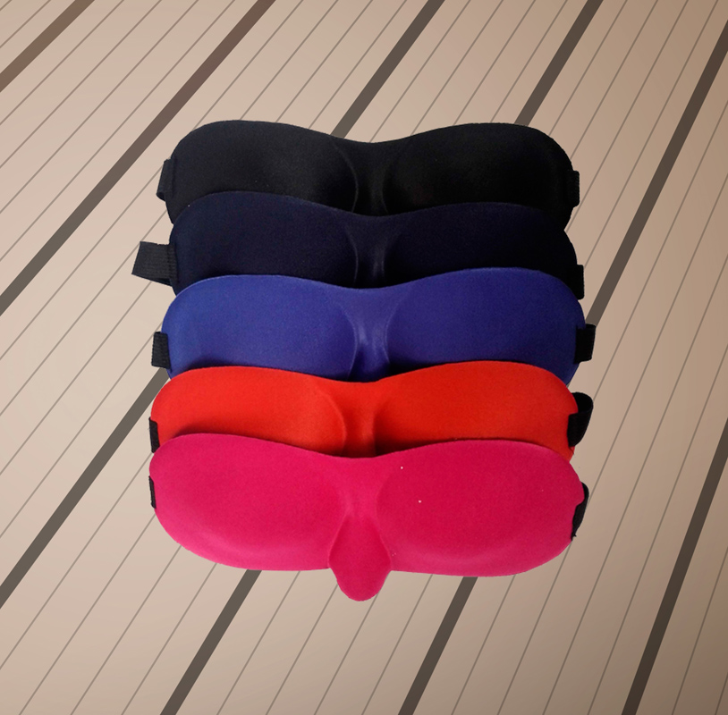 睡眠遮光眼罩3D立体舒适透气睡眠眼罩 睡觉助眠男女用护眼罩遮光更出色