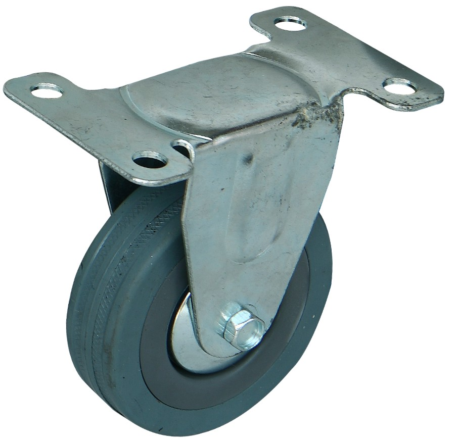 橡胶万向轮图片/橡胶万向轮样板图 (3)