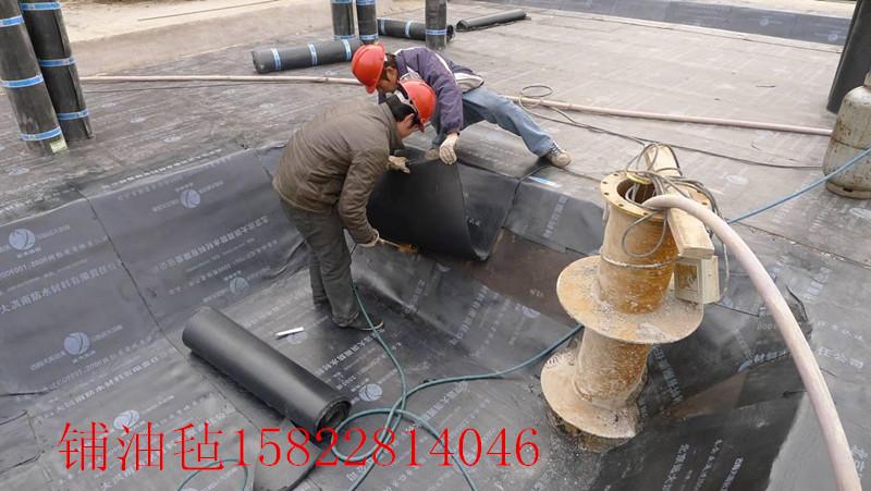 天津市河东区铺油毡15822814046防水补漏 SBS卷材