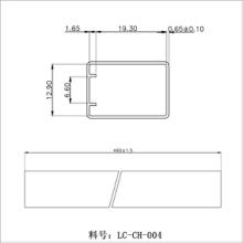 透明方管电声器件包装管激光器件包装管价格、图片