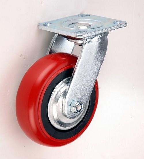 5寸重型韩式PU万向轮 5寸重型韩式PU万向轮厂家直销