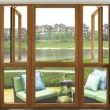 雅高门窗铝包木门窗、铝材为辅木材为主、节能环保隔音隔热AAG亚铝 铝木门窗