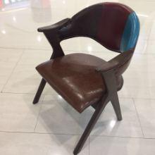 休闲皮座椅