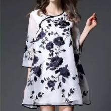 罗拉欧州站夏装品牌品牌女装批发走份批发一手货源大码女装批发