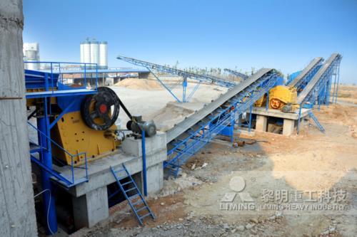 铜矿选矿破碎、磨粉生产线工艺设备