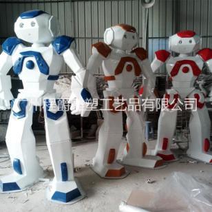 玻璃钢机器人雕塑图片