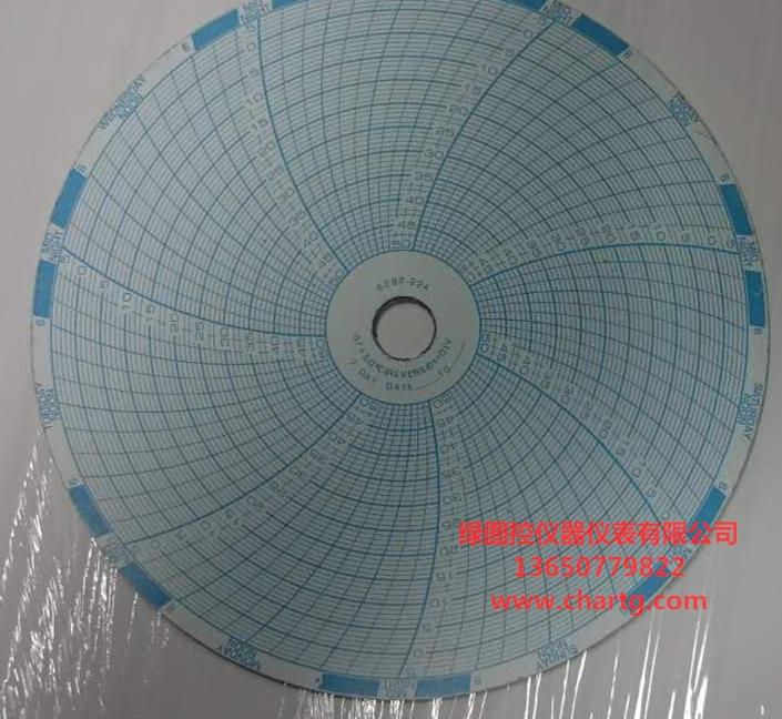 日本三洋MTR-G85温度记录计记录纸RP-G85 天津三洋冰箱圆图纸MTR-85H