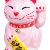 发声招财猫存钱罐耐摔保丽龙材质可爱造型装饰品
