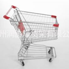 润协隆厂家批发手推车非折叠买菜小拉车带儿童凳商场超市购物车图片